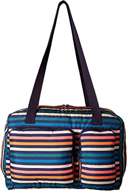Sonia Rykiel Kids - Multicolored Striped Diaper Bag