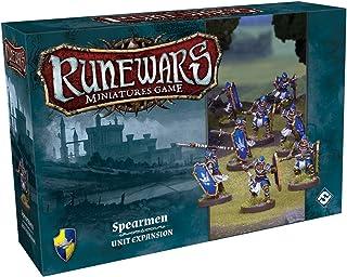 Fantasy Flight Games Runewars Spearmen Unit Expansion Pack Miniatures Game Miniatures Game