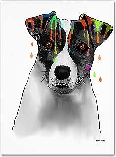 Jack Russell Terrier Wall Decor by Marlene Watson, 18 by 24
