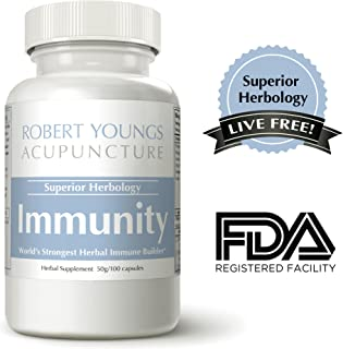 Immunity, Immune Support Formula for Immune Wellness, Maximum System Booster Supplement with Reishi, Astragalus & Cordyceps, 100 Capsules