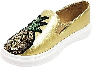Vila Veloni Shoes Classic Slip On ASTI Pinneaple Sneaker Kids Girls