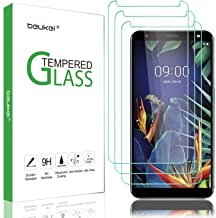 (3 Pack) Beukei for LG K40 Screen Protector Tempered Glass, for LG Solo LTE//LG Harmony 3/LG Xpression Plus 2 Screen Prote...