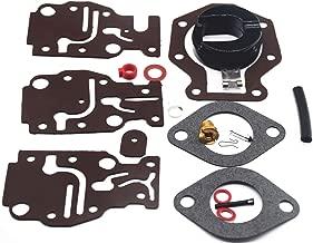 HandyTek Carburetor Rebuild kit for Johnson/Evinrude 6 8 9.9 15 20 HP 0439073