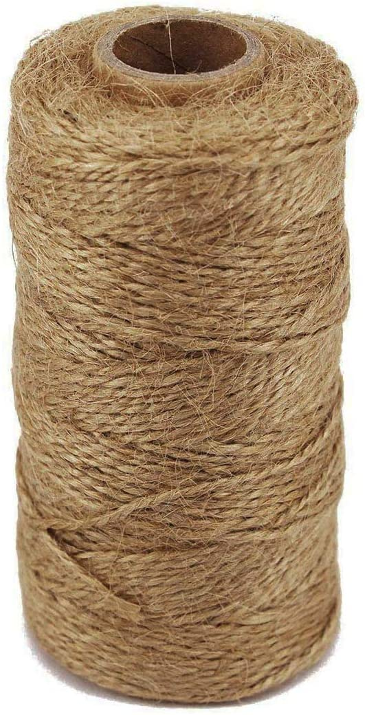 TIAMALL 300 Feet Natural Jute Twine St String All items in the store Gift Packing Seattle Mall