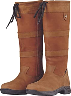 River Boots III Tan Ladies 9 XWide