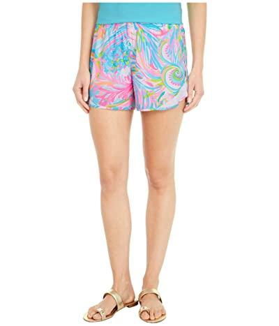 Lilly Pulitzer Ocean Trail Shorts (Multi Carnivale Coral) Women
