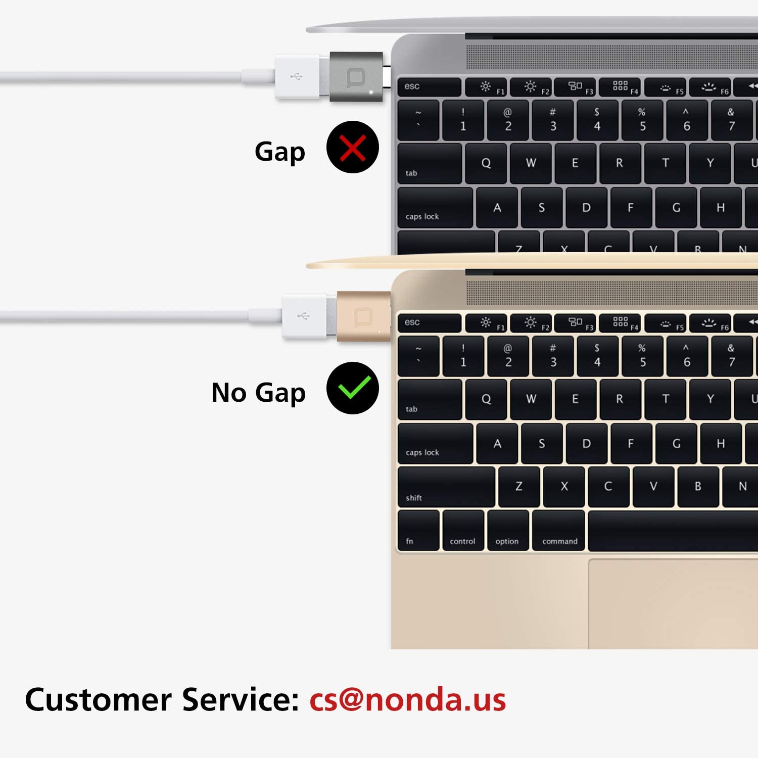 nonda USB C to USB Adapter,USB-C to USB 3.0 Adapter,USB Type-C to USB,Thunderbolt 3 to USB Female Adapter OTG for MacBook Pro2019,MacBook Air 2020,iPad Pro 2020,More Type-C Devices(Space Gray)
