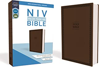 NIV, Value Thinline Bible, Leathersoft, Brown, Comfort Print PDF