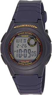 Casio Men's LCD Dial Resin Digital Watch - F-200W-2ADF