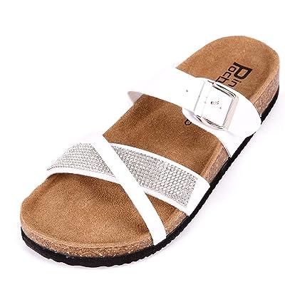 Summer Leather Strap Cork Sandal