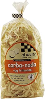 Al Dente All-Natural Carba-Nada Egg Fettuccine Noodles, 10 Oz(Pack of 2)