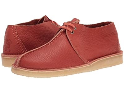 Clarks Desert Trek (Burnt Orange Leather) Men