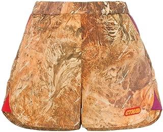 HERON PRESTON Luxury Fashion Womens HWCB003R197410158888 Brown Shorts | Season Outlet