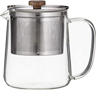 LEAF & BEAN Dual Infuser with Teapot Dual Infuser with Teapot, Stainless Steel, DLE0063
