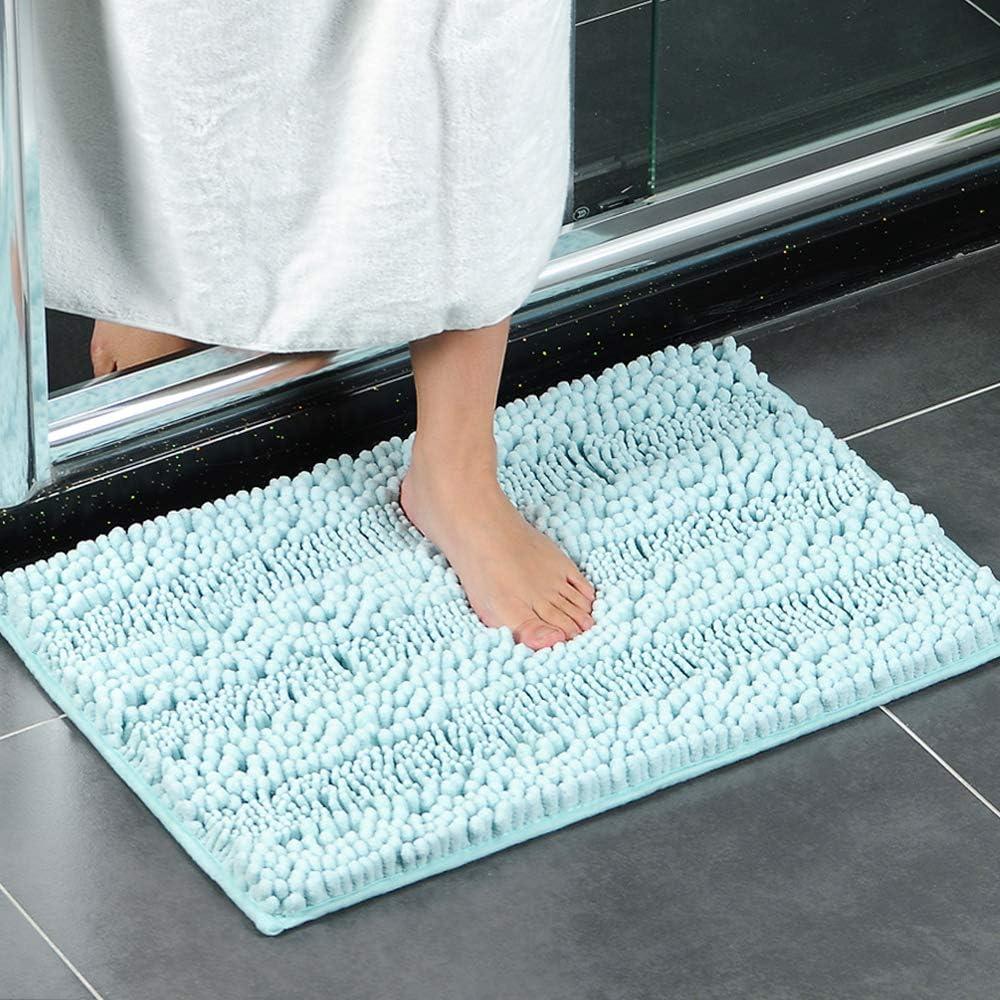 XIYUNTE Small Limited price Bath Mat Non Slip 2021 spring and summer new - 43 17 63cm Chenille 25 x Ba