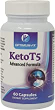 Keto T5 Diet Pills Advanced Ketogenic Support aE Fat Burner aE Pre-Workout Energiser aE Pure Energy Booster aE Weight Loss Slimming Pills – Burn Fat 60 Vegetarian Vegan Capsules 30 Day Supply Estimated Price : £ 20,00
