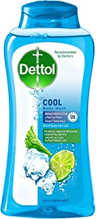 Dettol Cool Anti-Bacterial Body Wash with Mint and Bergamot Scent - 250 ml