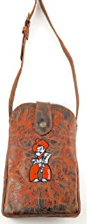 GAMEDAY BOOTS NCAA Oklahoma State Cowboys Women's Cross Body Purse, Brass, One Size