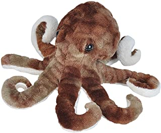(Octopus) - Wild Republic Octopus Plush, Stuffed Animal, Plush Toy, Gifts for Kids, Sea Critters 22cm