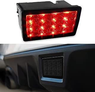 F1 Style Smoked LED Rear Fog Brake Light for 11-18 Subaru WRX, 11-18 Impreza GP