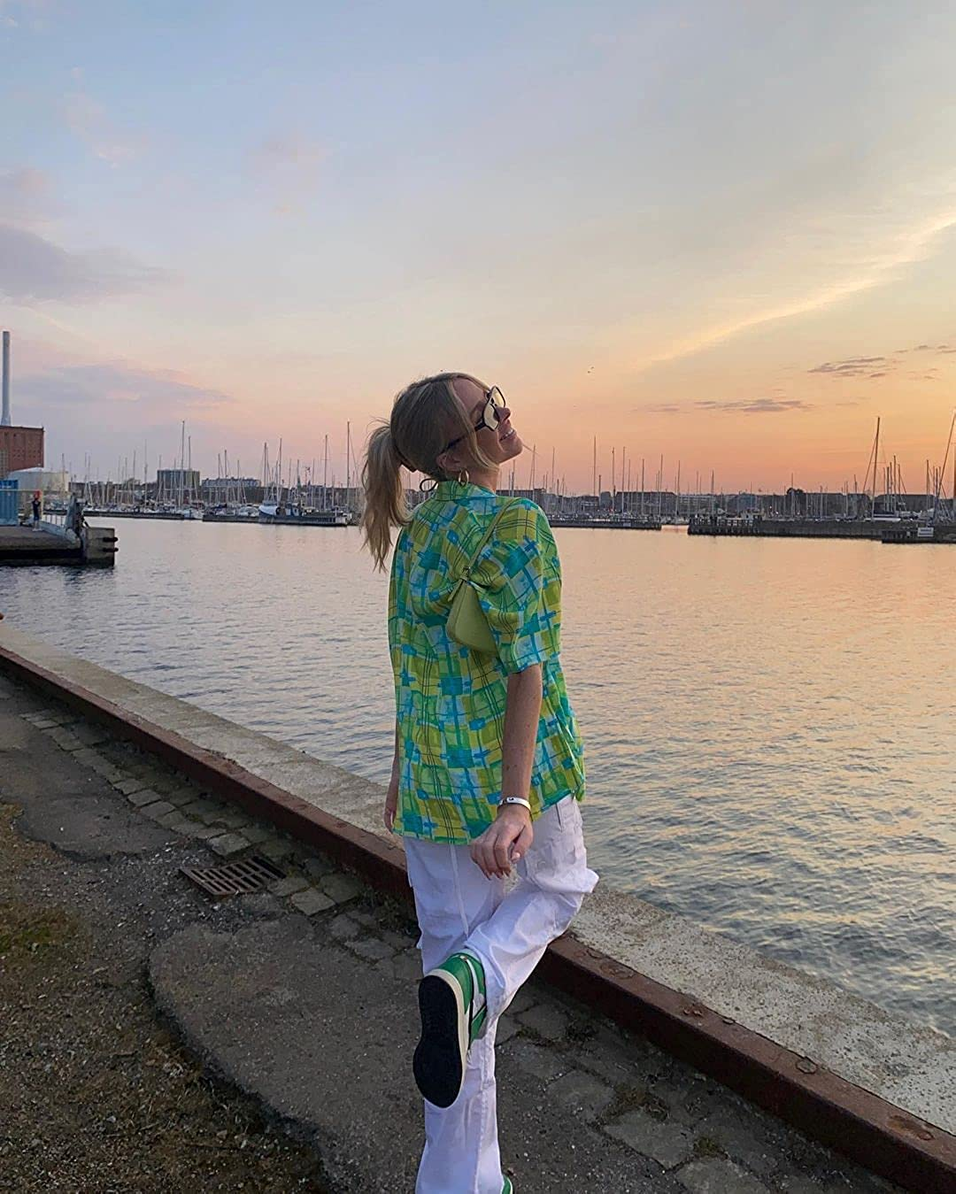 Women Short Sleeve Collared Button Down T Shirt Blouse Summer Y2k Cardigans Crop Tops Vintage Aesthetic Clothes