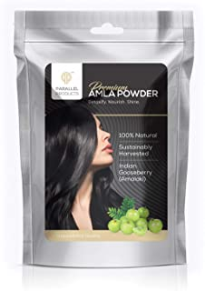 Parallel Products Amla Hair Powder - 100% All Natural Organic (4 oz)