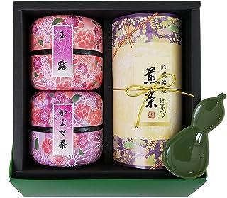 土倉「玉露・かぶせ・煎茶 詰合せ ギフト」お歳暮 お返し お茶 贈り物 国産 茶葉 風雅伝承-30
