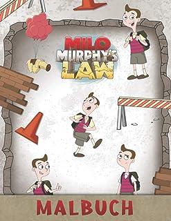 Milo Murphy's Law Malbuch: Malbuch fuer Kinder