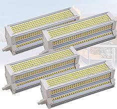 4x R7S LED-lamp 189 mm 60W dimbaar dubbele eindigde J189 gloeilamp, equivalent aan 1000W, vervanging voor traditionele hal...