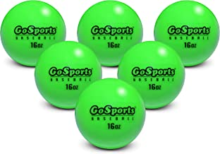 "GoSports 2.8"" Weighted Training Baseballs | Hitting & Pitching Training for All Skill Levels | Improve Power and Mechanics"