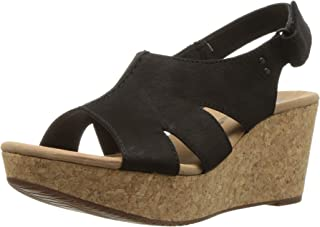 ca1d7c734e8 Black Women s Wedge   Platform Sandals