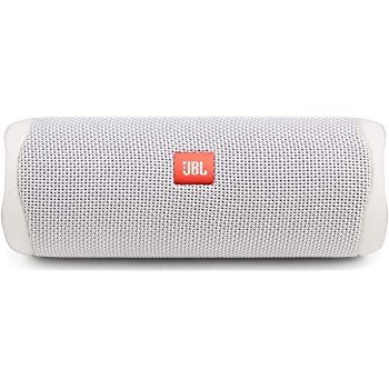 Amazon Com Jbl Flip 5 Waterproof Portable Bluetooth Speaker White New Model Home Audio Theater