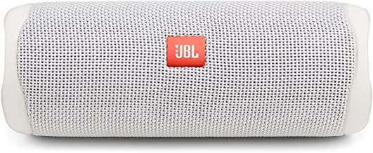 JBL FLIP 5, Waterproof Portable Bluetooth Speaker, White...