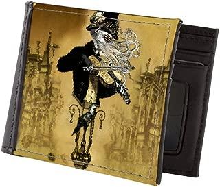 CafePress - The Cthulhu Maestro II By Bethalynne B - Mens Wallet, Bi-fold Wallet, Billfold Money Holder