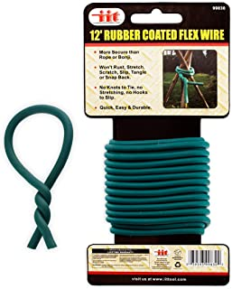 Ind Tools 12-Ft Rubber-Coated Flex Plant Wire - Support Plant Vines, Stems & Stalks - Easy Cut to Size (Original Version)