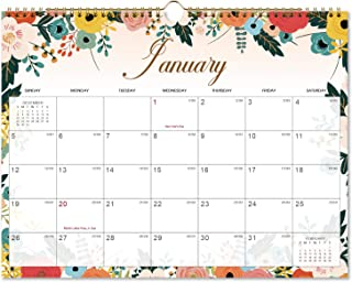 Calendar 2020 - Monthly Wall Calendar with Thick Paper, 15