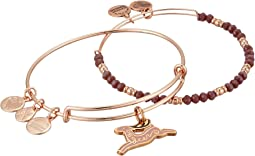 Alex and Ani - Oh Deer Set Of 2 Bracelet