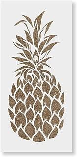 pineapple stencil template