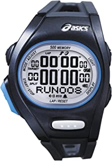 Asics Women's Race CQAR0102 Silver Plastic Quartz Watch with Digital Dial