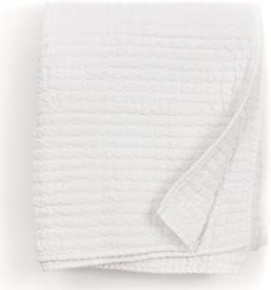 Amity Home Casie White Linen Thow Quilt