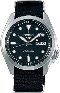 Seiko Sport 5 Facelift Automatic Nylon Strap Black Watch SRPE67K1