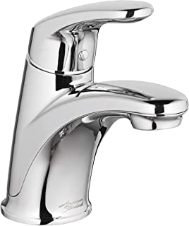American Standard 7075100.002 Colony Pro Single-Handle Bathroom Faucet with Metal Pop-Up Drain, 1.2 GPM, Polished Chrome
