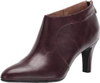 حذاء برقبة للنساء من LifeStride Georgia Pinot Noir مقاس 8. 5 W