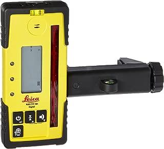 Leica RE 160 Digital Rugby Rod Eye 160 Digital Rotary Laser Receiver, Yellow