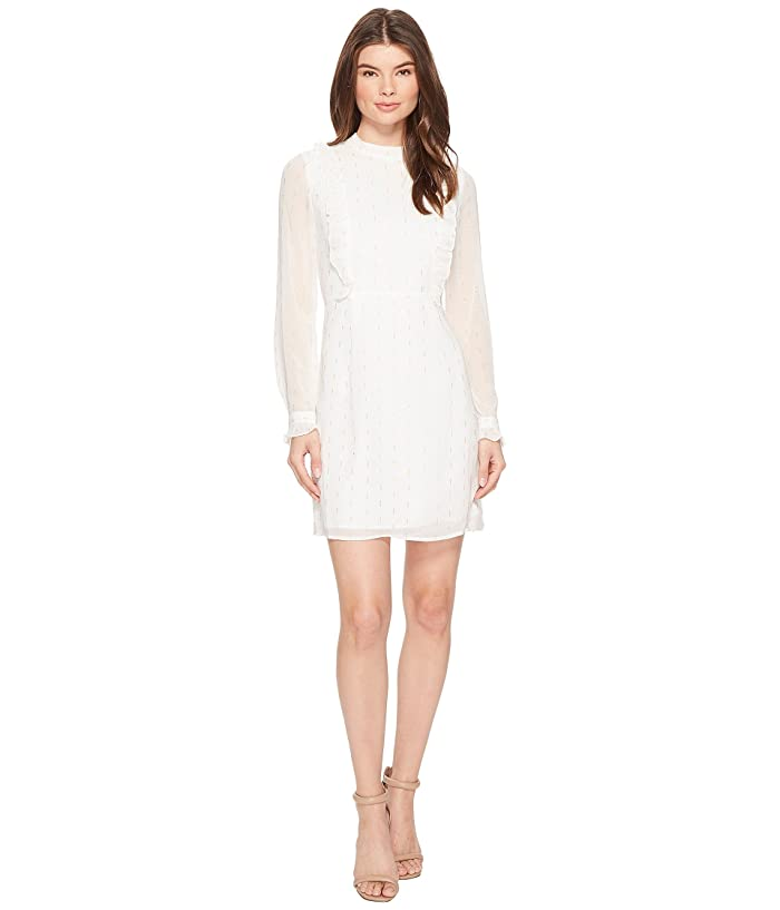 9b3f6041 CATHERINE Catherine Malandrino Long Sleeve Ruffle Front Dress at 6pm