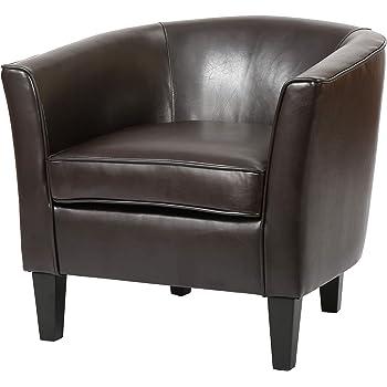Christopher Knight Home Logan Club Chair, Brown