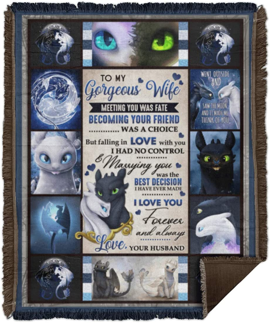 Blankets to My Gorgeous Inexpensive Wife New Shipping Free Meeting Fate was Love I You For