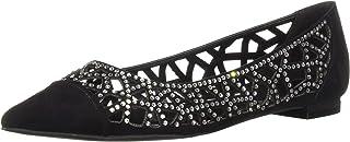 Athena Alexander Women's Andover Sneaker, Black Suede, 6.5 M US