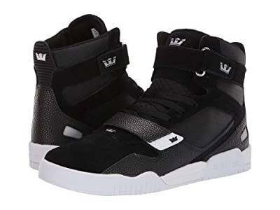 Supra Breaker (Black/Silver/White) Men