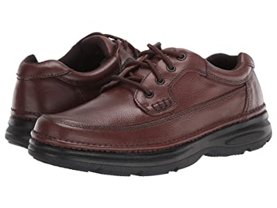 Nunn Bush Cameron Comfort Walking Oxford (Brown Tumbled Leather) Men